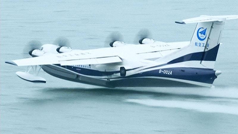 Meraviglia cinese: ecco il Kunlong, gigante anfibio